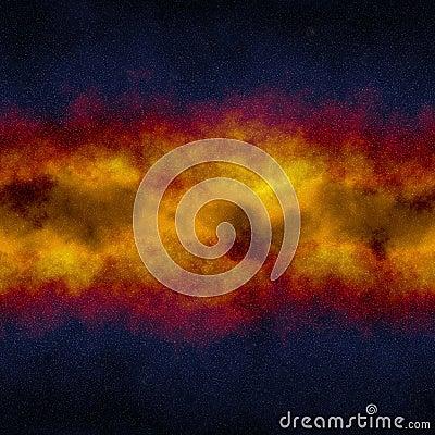 Deep space core Stock Photo