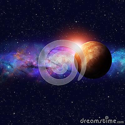 Free Deep Space Starfield Royalty Free Stock Photos - 51035518
