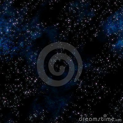 deep Space stars background