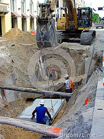Free Deep Street Work Stock Image - 228751