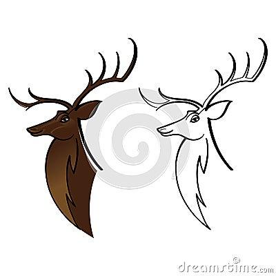 Deer Buck Elk