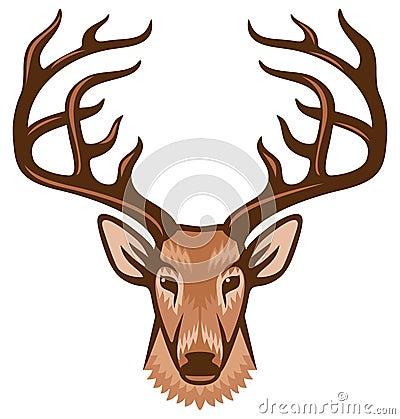 Free Deer Head Royalty Free Stock Photos - 32929418