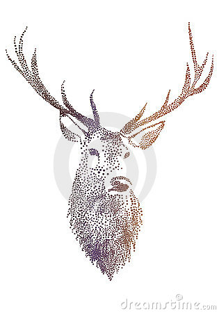 Free Deer Head, Vector Royalty Free Stock Photo - 22179395