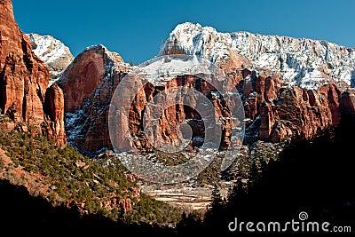 Deer Trap Mountain In Winter