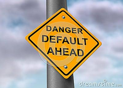 Default danger sign