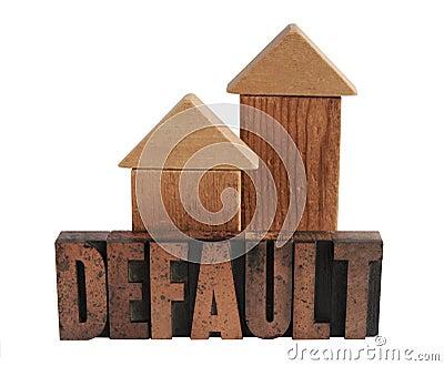 Default in wood type 1