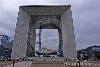 Defense building in France Editorial Photography