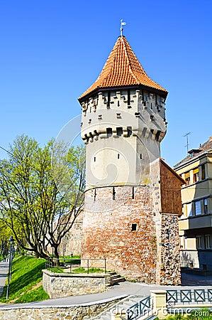 Defense tower in Sibiu