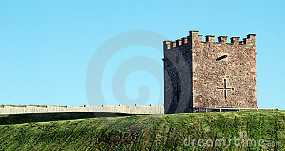 Defensive military fort tower