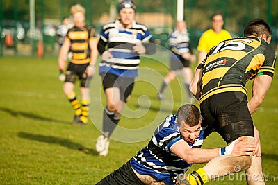 Defensive Tackle Rugby
