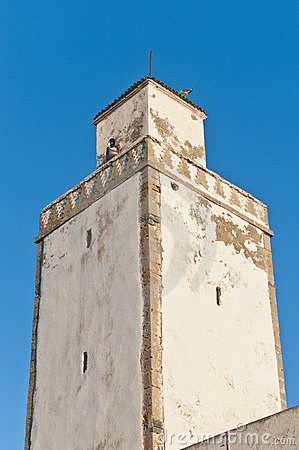Defensive Tower on at Essaouira, Moroc
