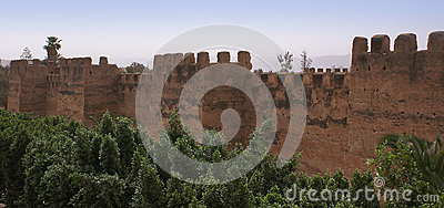 Defensive wall in Toroudant
