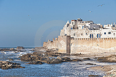 Defensive walls of Essaouira, Morocco