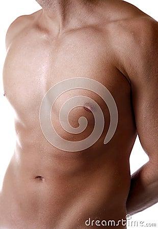 Defined male body
