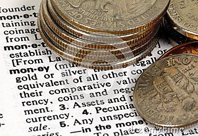 Definición del dinero