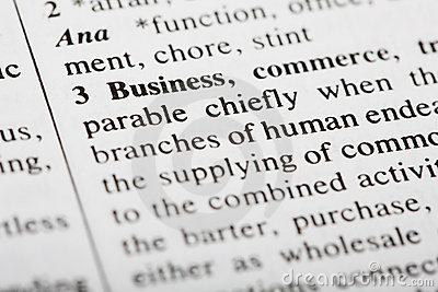 Defintion of Business