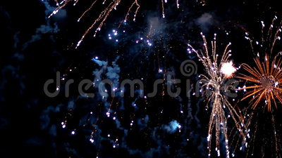 Defocus dei fuochi d'artificio