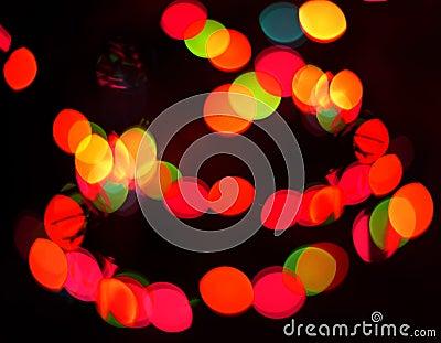 Defocus light spots