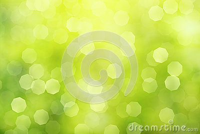 Defocused green abstract background