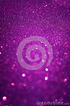 Defocused lights background. abstract purple bokeh lights. purple glitter background
