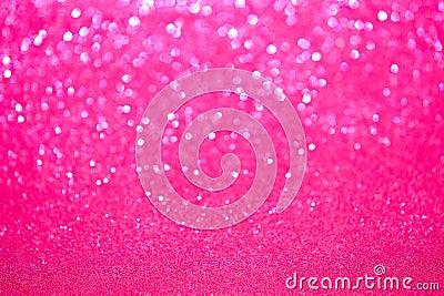 Defocused Pink Sparkles