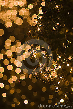 Free Defocused Star Shape Light Effect For Holidays Royalty Free Stock Photography - 13869797
