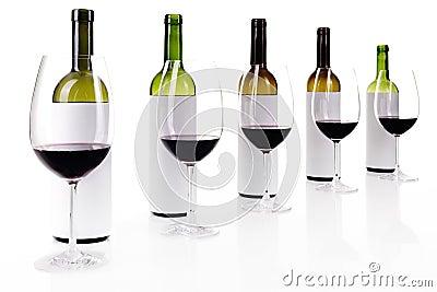 Degustación de vinos ciega en blanco