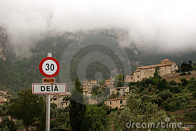 Deià in the Tramuntana mountains of Majorca