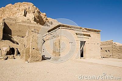 Deir el medina Ptolemy świątynia