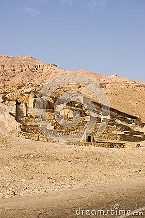 Deir el Medina tombs, Luxor