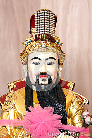 The deity of China.