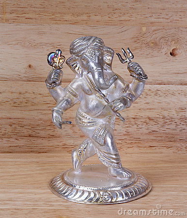 Deity Hindu god of wisdom and prosperity Ganesha