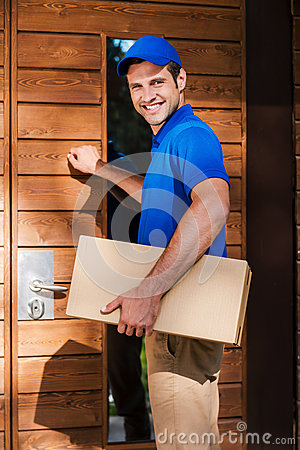 Free Deivery To Your House. Stock Photos - 55724203