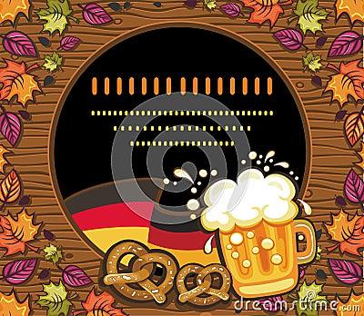 Dekoracja oktoberfest