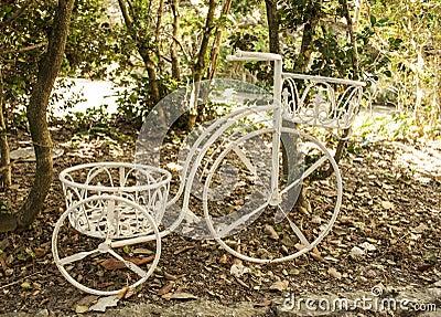 Dekoracyjny bicykl