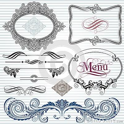 Dekoration-Elemente