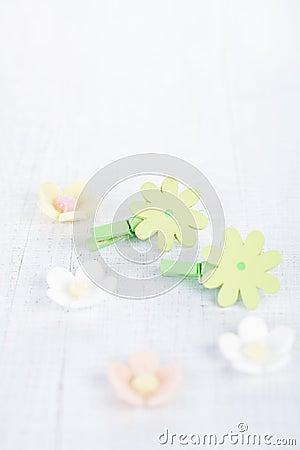 dekorative blume verd belt mit zuckerblumen auf wei er. Black Bedroom Furniture Sets. Home Design Ideas
