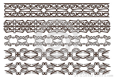 Dekorative Gestaltungselemente der Weinlese