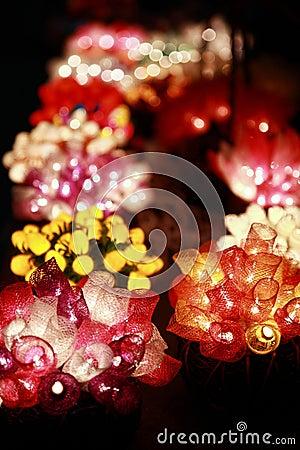 Dekorative Leuchten