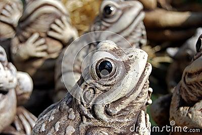 Dekorativer Frosch