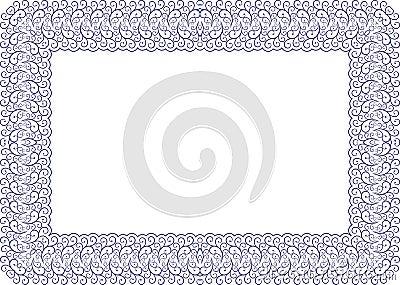 Dekorerad ram