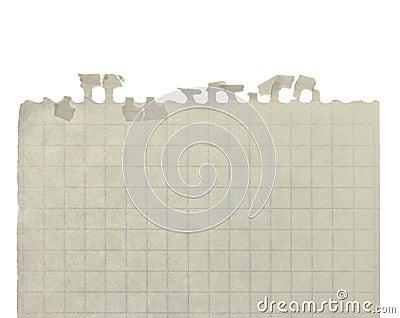 Del av arket