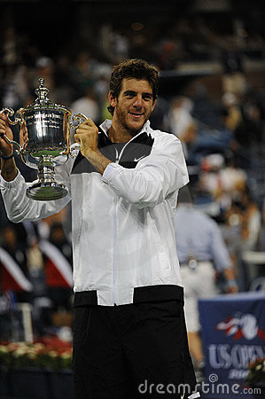 Del Potro champion of US Open 2009 (44) Editorial Photo