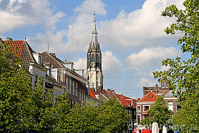 Delft Church Tower