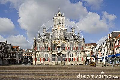 Delft City Hall, Holland