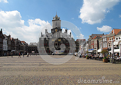 Delft, Netherlands Editorial Photography