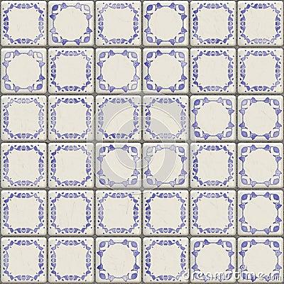 Delft tiles texture
