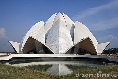 Delhi - Bahai House of Worship - India