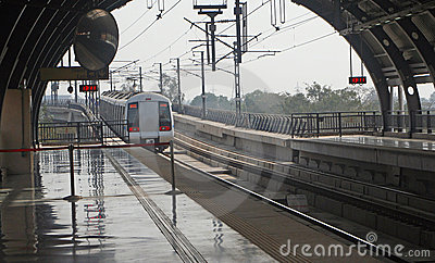 Delhi Metro Rail Mass  Public Transit India