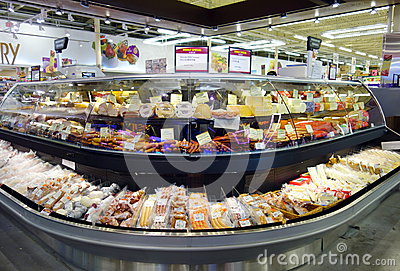 Deli Counter Editorial Photography